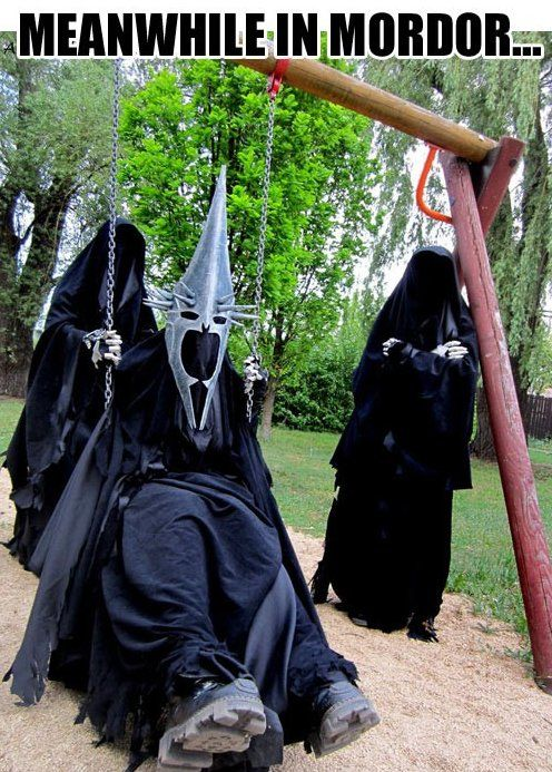 LOTR - Even the Witch King needs a break...