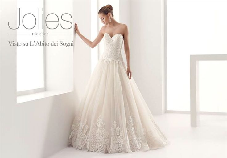 #Jolies #2015Collection  #wedding dress #nicolespose  ► http://www.nicolespose.it/it/abito-da-sposa-Jolies-%20Judith-JOAB15502DI-2015?utm_source=facebook.com&utm_medium=post&utm_term=JOAB15502DI&utm_content=collezione2015&utm_campaign=jolies