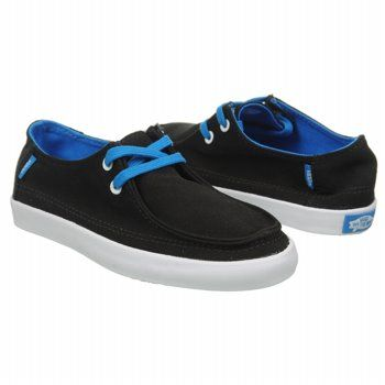 Vans Rata Vulc Pre/Grd Shoes (Black/Directoire Blu) - Kids' Shoes - 3.0 M