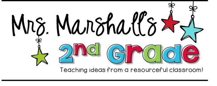 Mrs. Marshall's 2nd Grade!