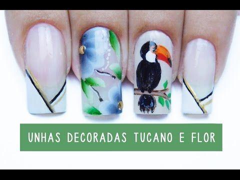 tutorial do tucano (adesivos artesanais) - YouTube