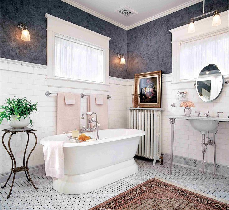 Pin By Okky Herdianto On The Real Reason Behind Bathroom Tiles Black And White Ideas Classic Bathroom Classic Bathroom Design Bathroom Interior Design