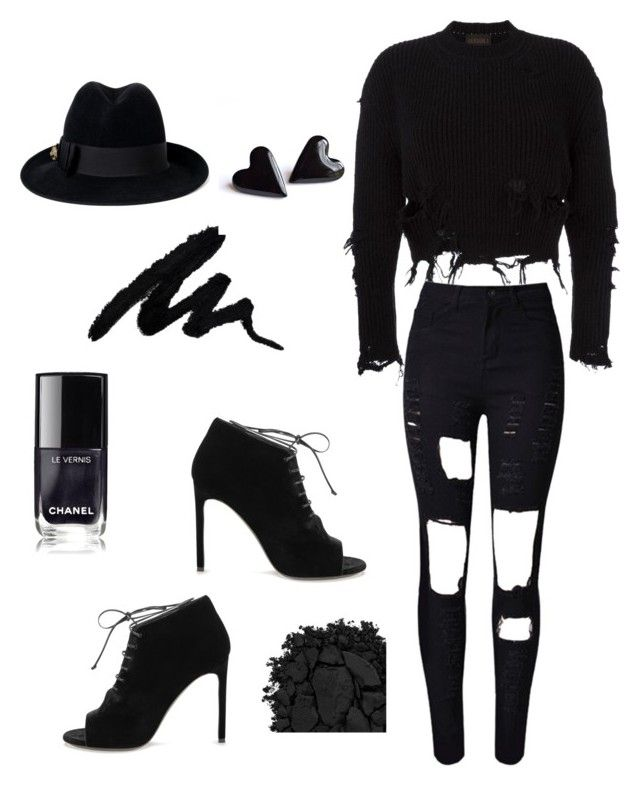 untitled #1 by ysca15 on Polyvore featuring polyvore, мода, style, adidas Originals, WithChic, Yves Saint Laurent, Gucci, Urban Decay, fashion and clothing  #black #swag #girl #dayout #outfit #ootd #pretty #style #simple #tumblr #trend