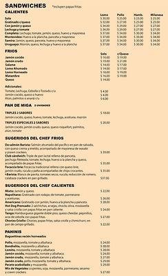 Platodeldía: Menus from various Spanish speaking countries