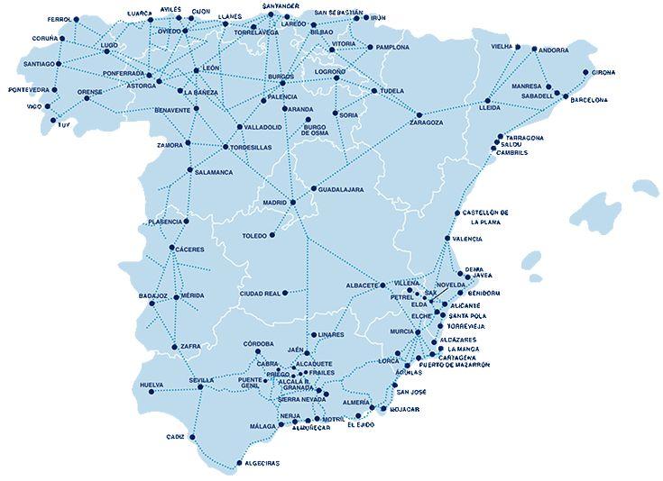 Nuestros destinos nacionales - ALSA