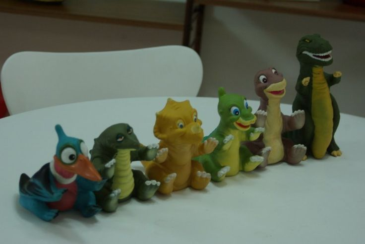 Land Before Time Toys : Pizza hut dinosaurs vintage land before time