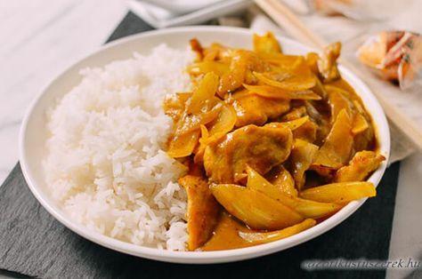 15 perces Csirke Curry - mint az Étteremben