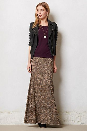 These Anthropologie Skirts Are Making Winter Pretty Again #refinery29 - Cecilia Prado Taiz Maxi Skirt, $298, available at Anthropologie.