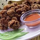 "Southern Fried Chicken Livers    By: CindyLepp     ""Mom made them because they are cheap, and now the convenience stores sell them in the South! You must have a fry screen -- these darn things pop and will burn you! Serve with pepper gravy or a packet of chicken gravy. """