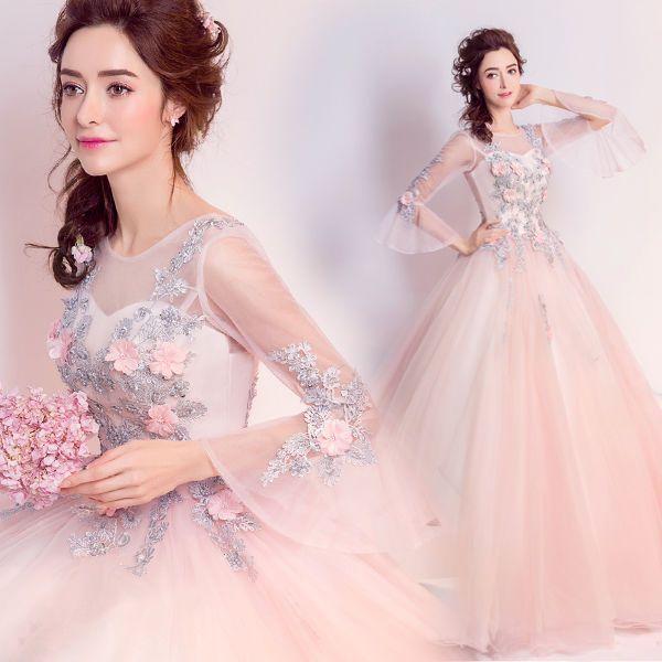 Flor feminina Bola de renda para noite coquetel Casamento madrinhas e damas de honra para formatura vestido maxi longa | Roupas, calçados e acessórios, Roupas femininas, Vestidos | eBay!