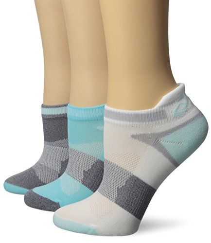 ASICS Women's Quick Lyte Cushion Single Tab Running Socks, Turquoise/Chrystal Blue, Small - http://www.exercisejoy.com/asics-womens-quick-lyte-cushion-single-tab-running-socks-turquoisechrystal-blue-small/fitness/