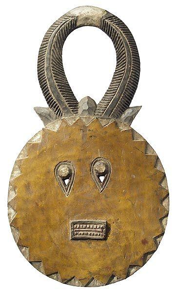 Baule Goli Mask (Kplekple Mask), Ivory Coast
