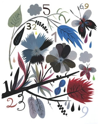 Naturmuster mit Zahlen 2 by Carolin Loebbert
