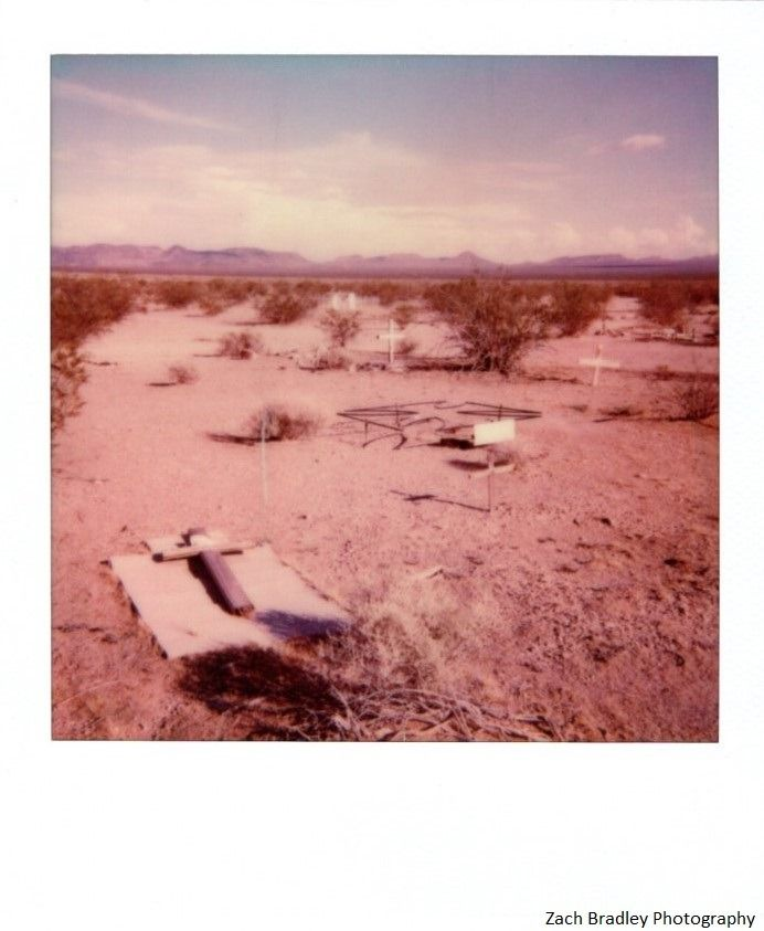All These Words Whispered In The Air Bouldercitynv Film Polaroid Abandonedpetcemetery Zachbradley Indie Places Boulder City Nv Pet Cemetery Photography