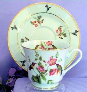 Floral Hummingbird Catherine. & 12 best HUMMINGBIRD DINNERWARE images on Pinterest | Hummingbird ...