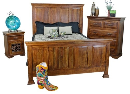 Mexican Pine Furniture San Miguel Bedroom Furniture Set