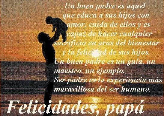 21 de Junio Dia del Padre