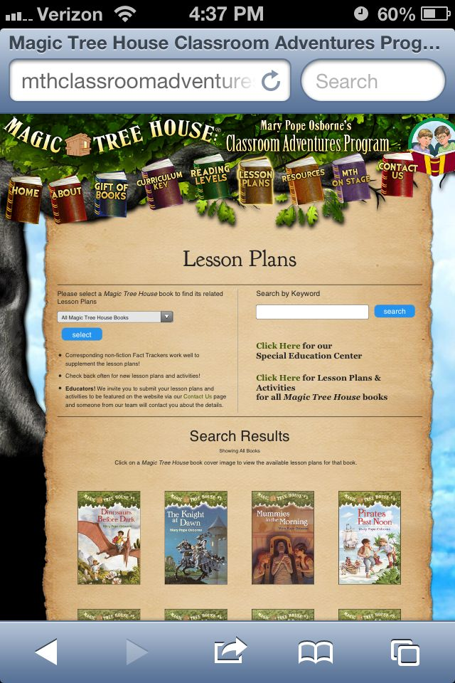 FREE Magic Tree House lesson plans... You can borrow the books from the library (and my county library allows me to download the audio book AND ePub book for free) so I have and entire year if history curr for FREE!!  It can be done chronologically or delight directed!