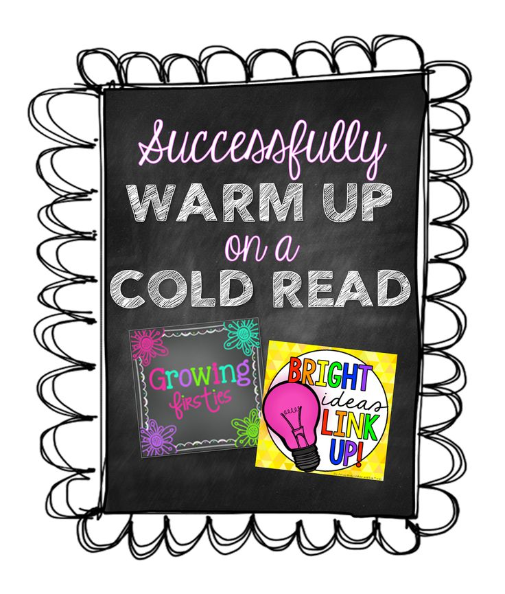 3 mn Video - Setting Up for Success on a Cold Read - Warming Up Before Reading (Non-Fiction)