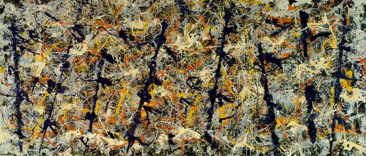 Pollock - Blue Poles