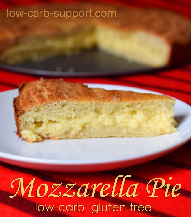 Low-carb cheese pie, 2g net carbs per serving - make it with feta or use crust base as a jumping off point. Carmelized onions, spinach/kale, or make it sweet instead of savory. Yummm!