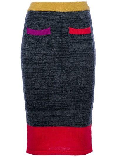 HENRIK VIBSKOV 'Long Dong' Knit Skirt