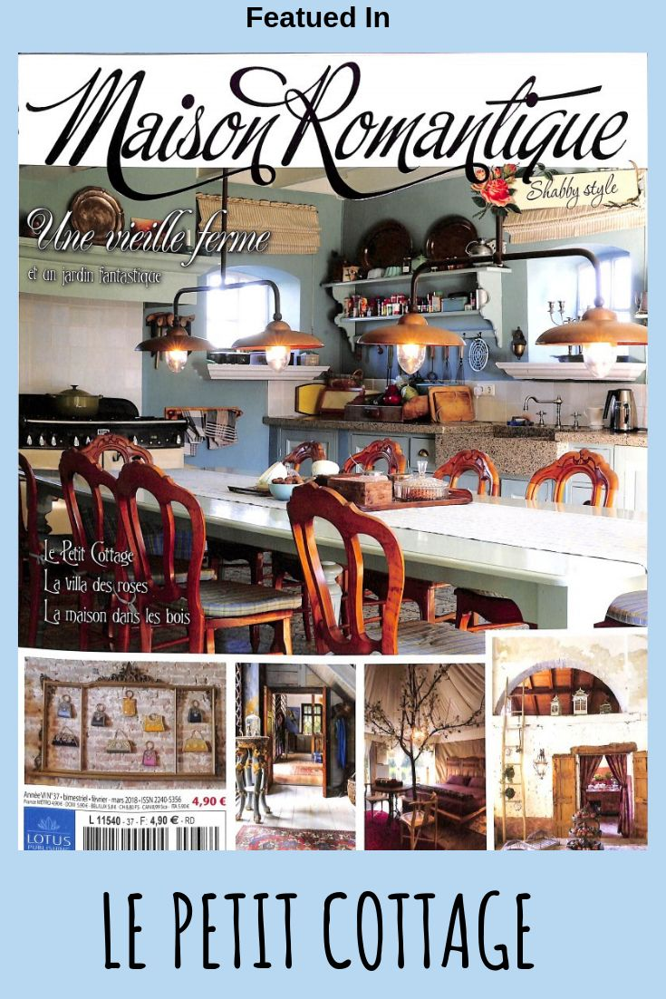 My little cottage featured in this French Country magazine ...