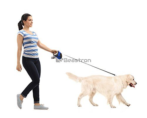 Beastron Retractable Dog Leash 16 Ft Dog Walking Leash For Medium Lar Dog Training Obedience Retractable Dog Leash Dog Walking