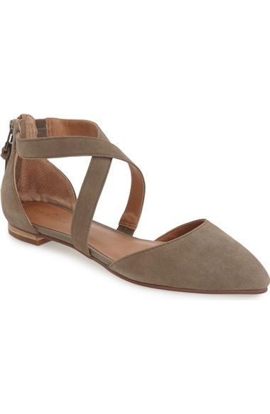Caslon® 'Aubry' Pointy Toe Flat (Women) available at #Nordstrom