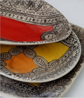 Wonki Ware from our Mzansi Collection. We love to mix and match the colors!