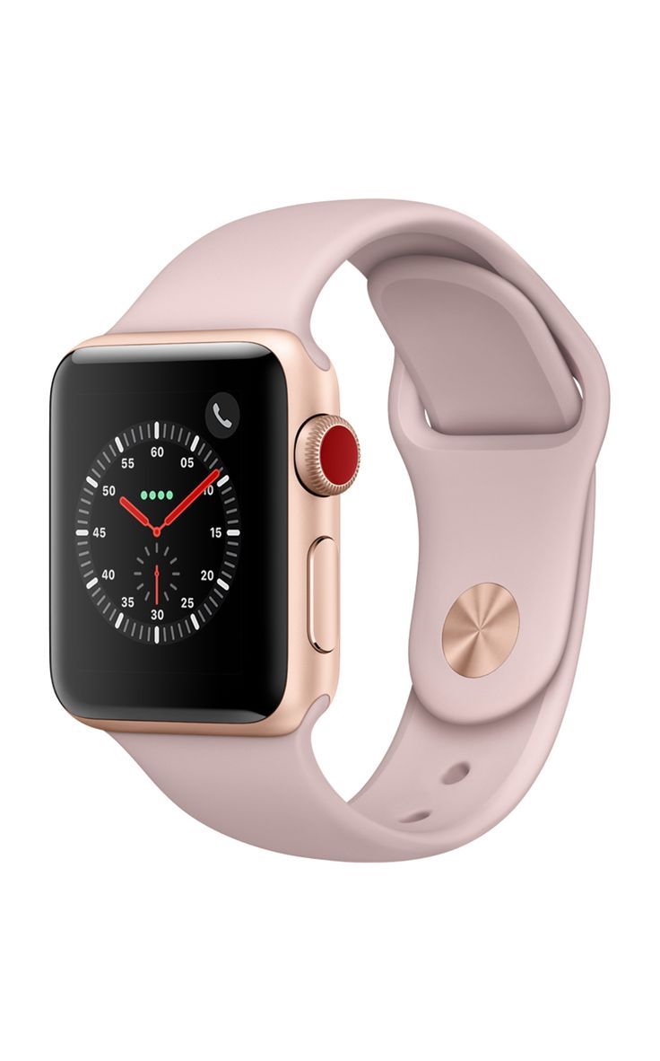 Apple Watch Series 3 38mm Gold Pink Sand Sport Band