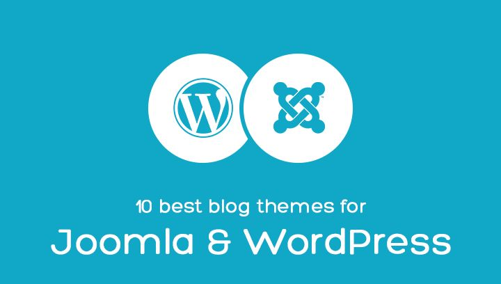 Check the 10 best blog themes for Joomla & Wordpress! #Joomla #theme #template #blog #WordPress #portfolio #news #magazine