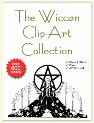 Vintage Artwork - Wiccan Pagan Witchcraft Illustrations / Clip Art