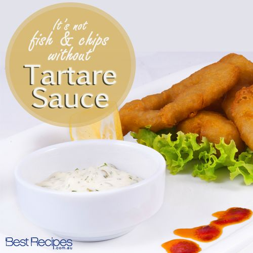 It's not fish and chips without tartare sauce! Learn how to make tartare sauce recipe.