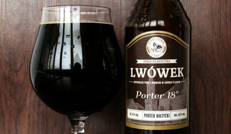 Lwówek #Porter 18 #beer #piwo #craftbeer #polishcraftbeer #polishbeer #balticporter