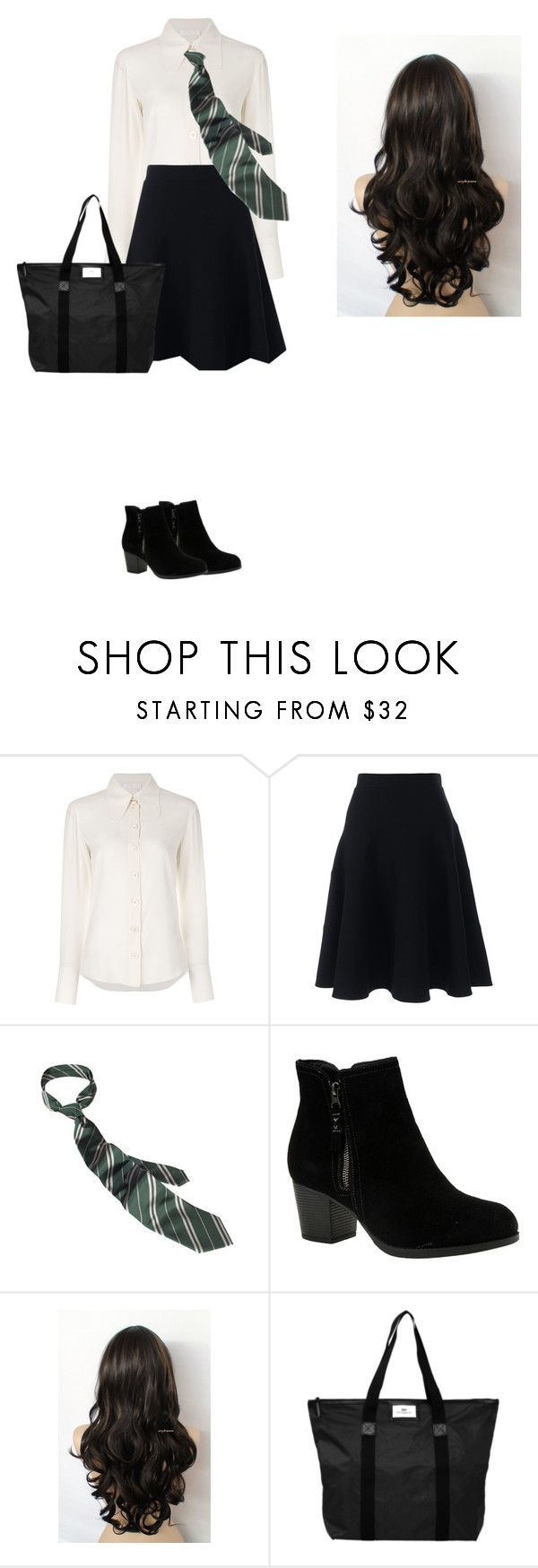 """""""..."""" by idatherese04 on Polyvore featuring beauty, Chloé, Lands' End, Skechers and DAY Birger et Mikkelsen"""
