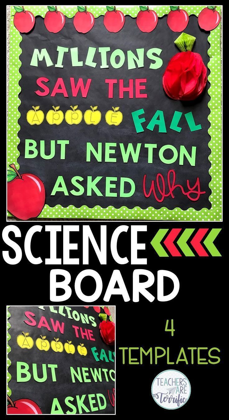 Science Bulletin Boards! Templates for four boards with great ideas for elementary science displays and projects for classroom teachers. Images are included to customize your boards by printing letters and designing your own displays. Easy and fun ideas to add a science bulletin board to your classroom!
