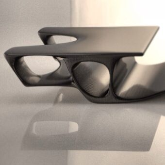 Unique Coffee table designed by Metamorphous Interiors Inspired by bone molecular structure