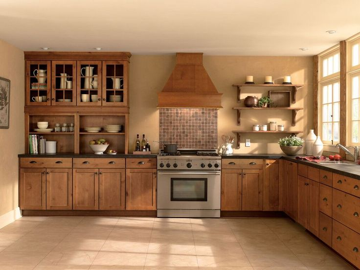 How Beautiful Are These Wolf Cabinets Kitchen Cabinet