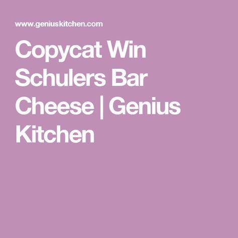 Copycat Win Schulers Bar Cheese | Genius Kitchen