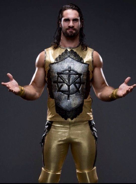 Love love this new outfit of Sethie's!<<<< He should've worn it more after Wrestlemania, it's my favorite of all his attires :/