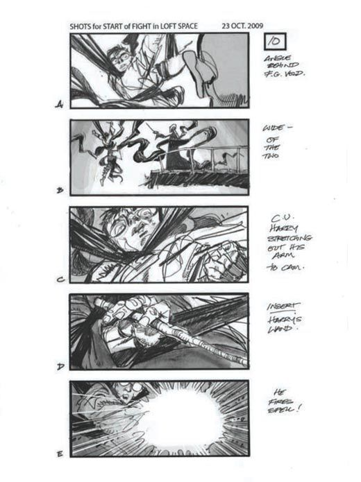 Best Storyboards And Concept Art Images On   Comic