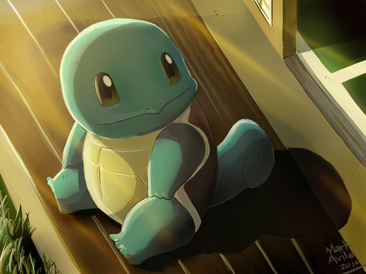 Pokemon: Squirtle by mark331.deviantart.com