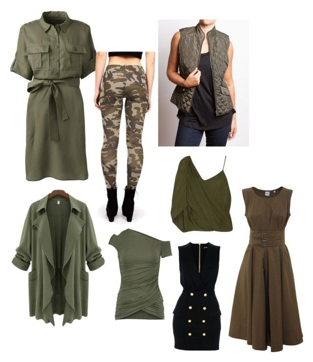 """""""Untitled #520"""" by kito345 ❤ liked on Polyvore featuring Lands' End, Bungalow 20, Bailey 44, Haute Hippie, Aspesi and Balmain"""