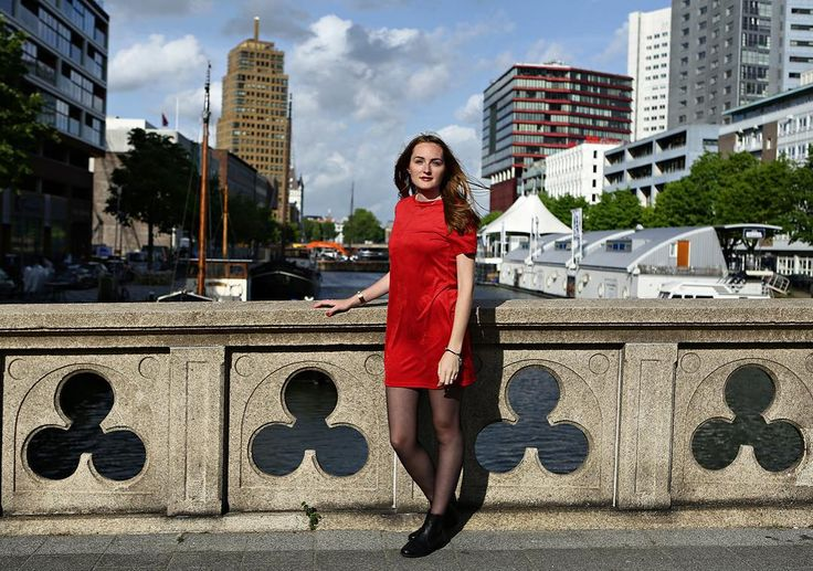 """WHEN IN DOUBT WEAR RED"" - #project365 #day159 #photochallenge #citygirl #reddress #bridge #city #rotterdam #iloverotterdam #igersrotterdam #instarotterdam #sunshine #portrait #portraitphotography #portraitphotographer #dk_photography #cityphotography #cityphoto #geefjeookop #fotoshoot #portraitinthecity #stad"