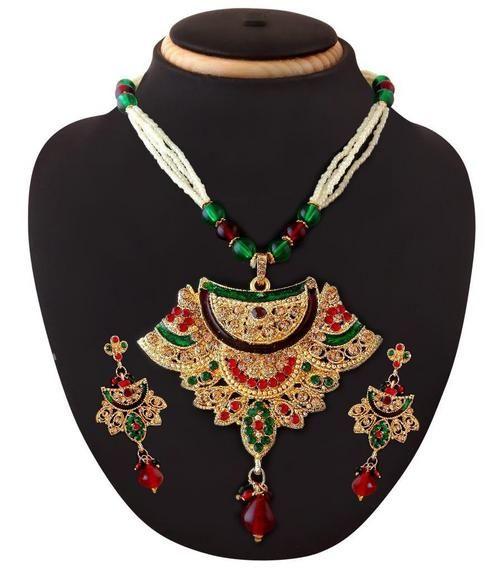 Antique Indian Artificial Unique Designer Gold Plated Jewellery