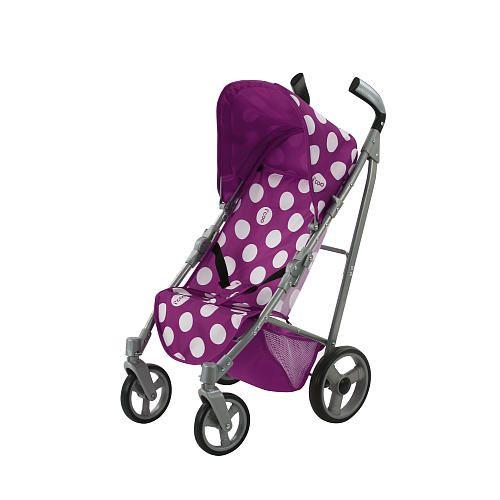 Icoo Pluto Doll Stroller - Purple Dots | Stroller ...