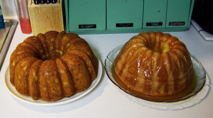 Southern Comfort Cakes....DELICIOUS!