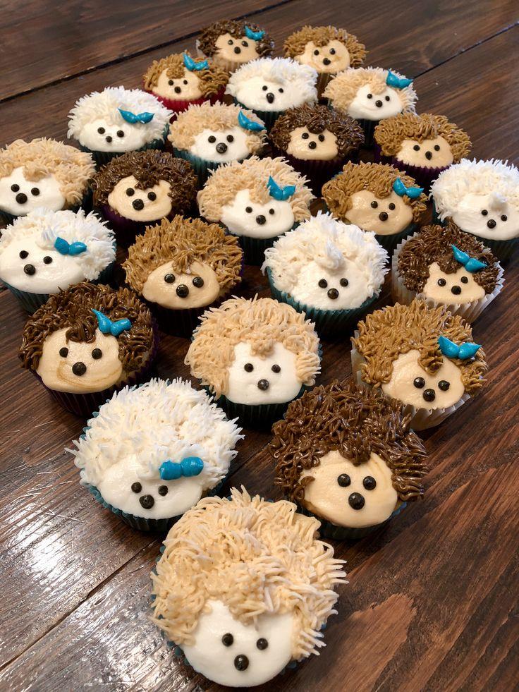 Hedgehog Cupcakes Cakes By Me In 2019 Hedgehog Cupcake