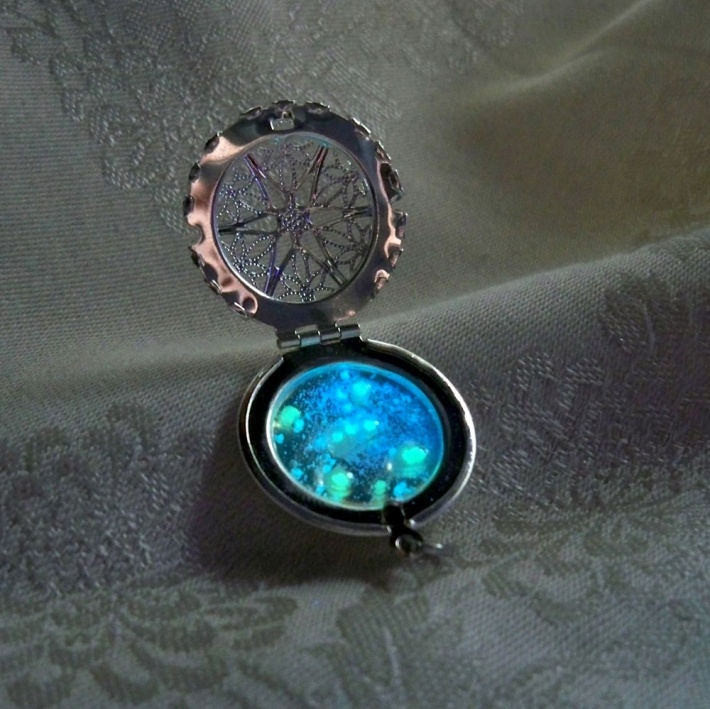 Astrology pendant or orions stars.